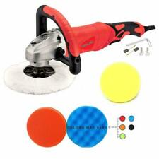 """Toolman 7Pcs Electric Polisher Sander Paint Care Tool 7"""" 12A amps Variable Speed"""