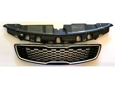 New OEM Front Grille Upper Bumper With Sight Shield Genuine Kia Forte 2017-2018