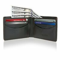 Visconti RFID Blocking Mens Leather Front Pocket Wallet Thin Slim Bifold Gift