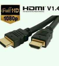 Extra Largo / 3m / 1080 1.4 v Hdmi Oro Cable Lead Smart Hd Tv Hdtv 3d Ps3 / Blu-ray