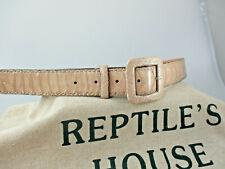 Echter Rochen Gürtel Stingray Razza  Wechselgürtel wie Reptile/'s House neu R 001
