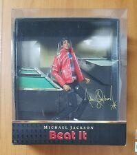 "Michael Jackson Beat It 10"" Action Figure Doll Playmates Toys Bravado 2010 NEW"