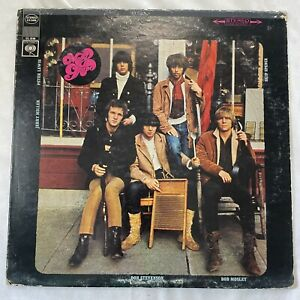 Moby Grape  - Self Titled - 1967 US 1st Press Uncensored Cover + Poster VG++