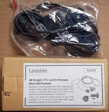 NEW Lastolite 3M Straight Cord TTL Off-Camera Flash Cable for Nikon film DSLR