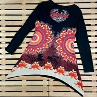 Womens Dress Desigual Jumper Long Sleeve Multicolor Size L