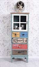 armoire vintage armoire commode loft VITRINE vaisselier / Buffet rétro