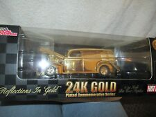 Hot Rod 24K Gold Plated Commemorative Series 1:24 Scale Die Cast