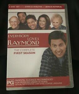 Everybody Loves Raymond : Season 1 (DVD, 2004, 5-Disc Set)Very Good Condition R4