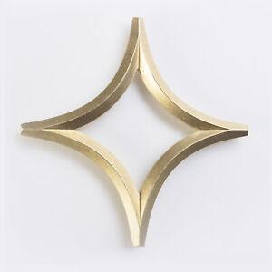 Futagami Handcrafted Metal Brass Kitchen Trivet - Star
