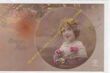 CPA Old Postcard vintage Enfant NOYER 2398 BONNE FETE