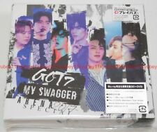 GOT7 ARENA SPECIAL 2017 MY SWAGGER First Limited Edition Blu-ray Photobook Japan