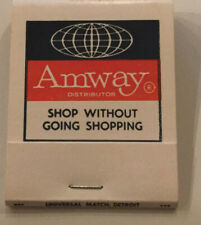 Vintage 70's Amway Products Advertising Unused Matchbook...