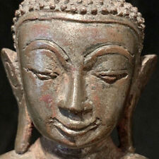 Authentic bronze Burmese Myanmar Shan Buddha 18th c