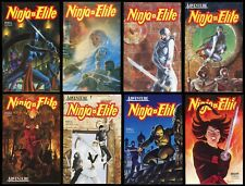 Ninja Elite Comic Set 1-2-3-4-5-6-7-8 Ninjutsu Martial Arts Bruce Lee Shuriken