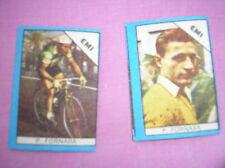 FORNARA EMI CYCLISME 2  IMAGES FIGURINA CARDS BUSTE ACTION 1960 NANNINA ITALIE