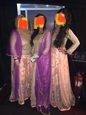 Pakistani Mehndi Wedding Dress Lehnga