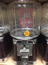 Free Shipping Beaver Burgundy Amp Chrome Gumball Candy Nut Bulk Vending Machine