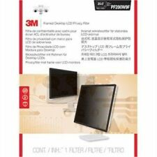 "3m Privacy Screen Filter Black, Transparent - For 20""lcd Notebook, Monitor"