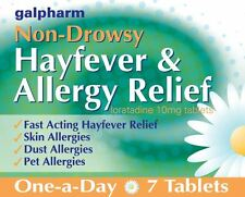Galpharm Non-Drowsy Hayfever & Allergy Relief 10mg 7 Tablets