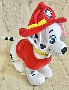 Paw Patrol Fire Marshall Build a Bear Soft Toy Plush BAB Outfit Teddy Pup 2015