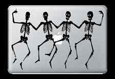 Dancing Skeletons Skulls Decal Sticker Skin Apple Mac Book Air/Pro Dell Laptop