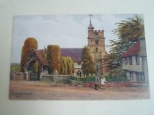 A R QUINTON Postcard 3474 BRENCHLEY CHURCH, KENT Franked 1948 §A2709