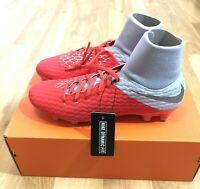 Nike Hypervenom 3 Academy DF FG Size 9 Men Soccer Cleats AQ9217-600