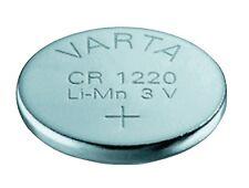 2x Varta CR1220 Li-Mn Lithium Button Cell 3v Battery fr Clock Calculator Car Fob