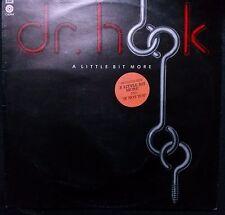 DR. HOOK - A LITTLE BIT MORE VINYL LP U.K. PRESSING