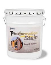Transformation Log & Timber Stain 5 Gallon Brown Tone Medium