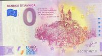 BILLET 0  EURO BANSKA STIAVNICA   SLOVAQUIE  2020 NUMERO DIVERS