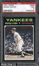 1971 Topps SETBREAK #358 Danny Cater New York Yankees PSA 7 NM