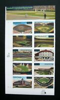 Sc # 3510-3519 ~ Plate # Block ~ 34 cent Legendary Playing Fields Issue (df17)
