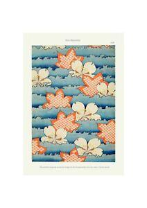 Japanese 1902 Art Pattern Print Shin-Bijutsukai | Flower Blossom Print