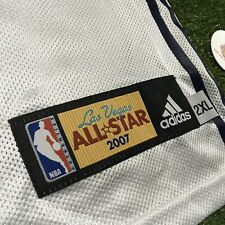 2007 Kobe MVP NBA All Star Game Jersey Plain Blank SEWN Las Vegas Adidas 2XL