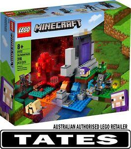 LEGO 21172 The Ruined Portal - Minecraft from Tates Toyworld