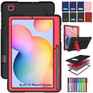 Shockproof Rubber Stand Case Cover For Samsung Galaxy Tab S6 Lite 10.4 P610 P615