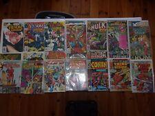 HUGE Comic Book Lot Vintage Comics! Marvel  Collectables hulk- venom- thing etc.