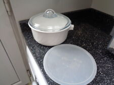 LARGE  ARCOFLAM SAUCEPAN WITH LID AND SEAL