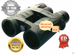 Barr& Stroud 'Series 4'10x42ED 'Phase Coated' WP FMC Binoculars+10 year UK G/tee