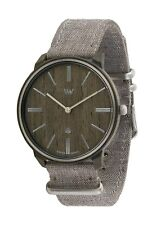 Orologio in legno WeWood - ROSS Nut Silver Wood Watch