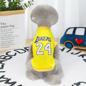 Pet Dog Clothes Summer Sports Dog Vests Mesh Pet Dog Yorkshire Maltese Shirts