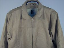 Robert Comstock Down Jacket Camel Large Mens New