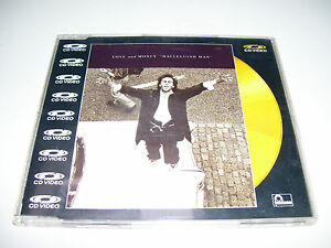 LOVE AND MONEY - HALLELUIAH MAM * RARE CD VIDEO PAL 5 track UK 1988 *
