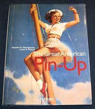 The Great American Pin-Up  Martignette & Meisel  Hardback Book w/DJ