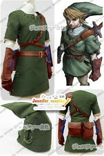 The Legend of Zelda Zelda Link Cosplay Costume Ver.1