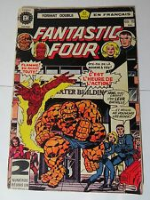 FANTASTIC FOUR B&W French comic Héritage 69 / 70  Marvel 181 182  + INHUMANS 4