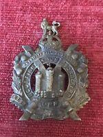 Kings Own Scottish Borderers White Metal Cap Badge Genuine British Army 14/1