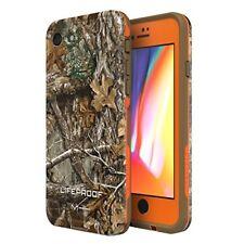 LifeProof Waterproof Case For iPhone 8 - Blaze Orange/Dark Flat Earth/Rt Edge
