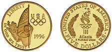 5 US GOLD DOLLARS - 5 DÓLARES ORO EE.UU. WEST POINT. 1996 W. FLAG BEARER. PROOF